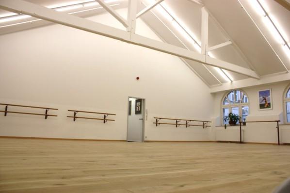 Eingang Ballettsaal, Tanzschule, Rheine, On Stage