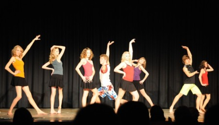 Jazz Dance Youth, Rheine, Auftritt Tanzschule, On Stage